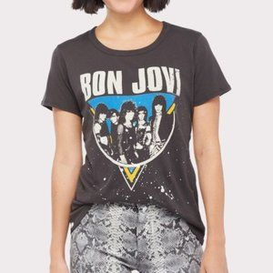 Chaser Bon Jovi Graphic Tee Small